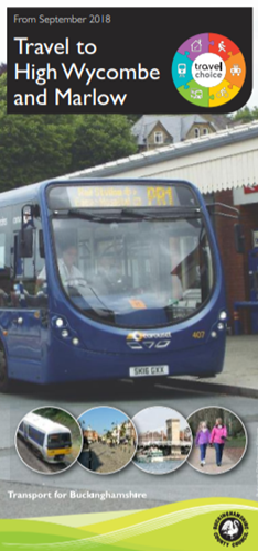 High Wycombe to Marlow travel brochure